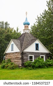 The memorial chapel in the historic downtown of Kenai was built in 1906 to honor Iguman Nikolai, the first missionary in the Kenai area