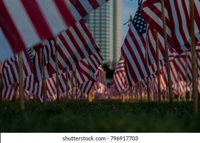 Memorial Day Flags in Charlotte, NC