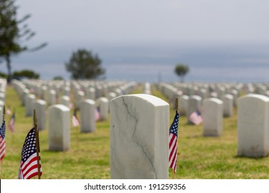 Memorial Day at Fort Rosecrans National Cemetery, Point Loma, CA