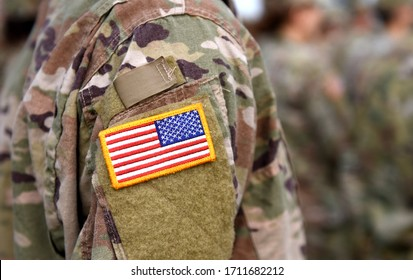 Memorial day. Veterans Day. US soldier. US Army. The United States Armed Forces.  Military forces of the United States of America.