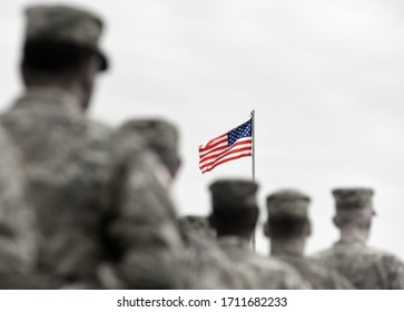 Memorial day. Veterans Day. US soldiers. US Army. The United States Armed Forces. Military forces of the United States of America.