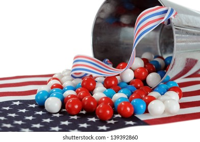 Memorial or Independence candy