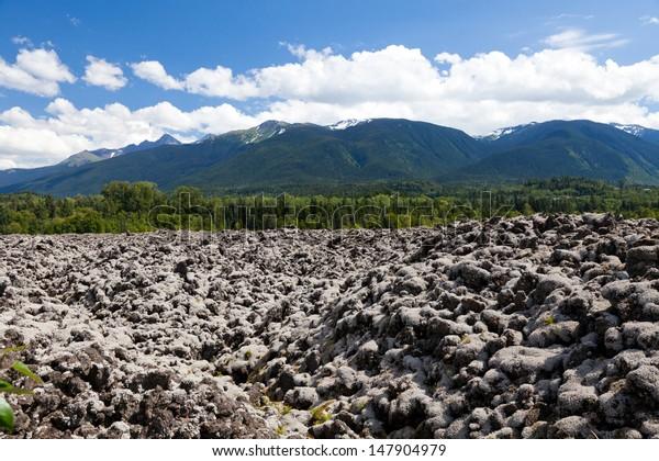 Nisga�¢??a Memorial Lava Bed Provincial Park, BC Canada