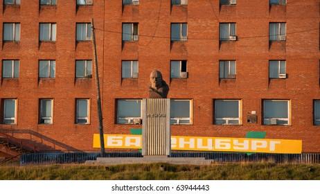Memorial of Lenin in Barencburg