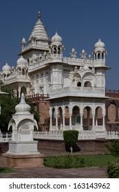 The memorial of maharaja Jaswant Singh II erected in 1899 in Jodhpur, Rajasthan, India