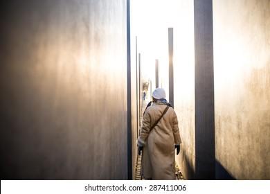 Memorial to the Murdered Jews - Berlin
