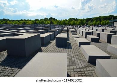 Memorial to the murdered Jews of Europe in Berlin