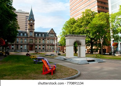 Memorial Park - Halifax - Nova Scotia