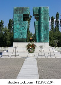 Memorial in Vukovar, Croatia for those that died in the war with Serbia