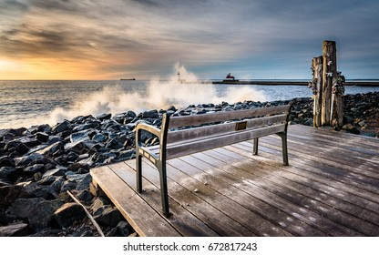 Memories of Lake Superior at Canal Park, Duluth MN