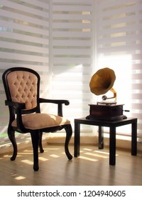 Memories with Old Gramophone an the Corner