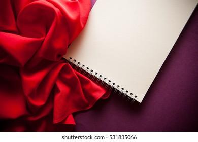 memories vintage background in red shades