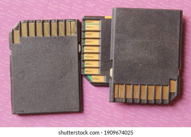 memory cards used in camera