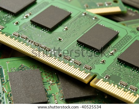 Memory Technology Circuit Board Pcb Hightech Stock Photo (Edit Now ...