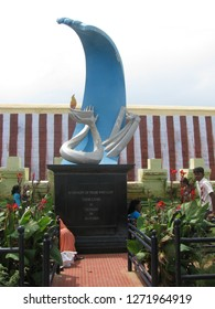 In memory of Those WHo Lost their lives in Tsunami, Kanyakumari, Kanyakumari Beach, Tsunami, Tsunami 2004