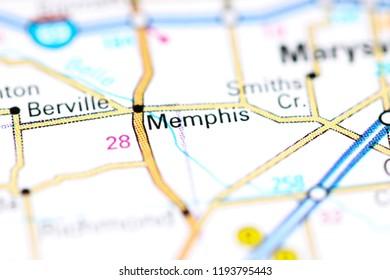 Memphis Michigan Map.Memphis Map Stock Photos Images Photography Shutterstock