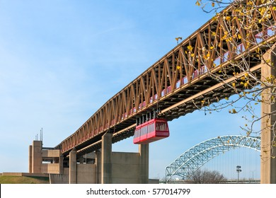 Memphis Suspension Railway to Mud Island River Park, Tennessee