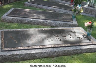 Memphis, Tennessee: USA: Summer 2015: Graceland; Elvis Presley's Home;