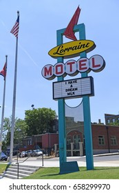 Memphis, TN, USA - June 9, 2017: The Lorraine Motel, site of the National Civil Rights Museum and the site of the Assassination of Dr. Martin Luther King Jr.