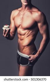 Tremendous Sexy Man Cake Images Stock Photos Vectors Shutterstock Funny Birthday Cards Online Elaedamsfinfo