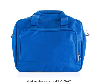 men bag on white background