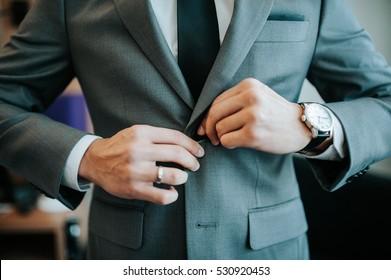 men with blazer