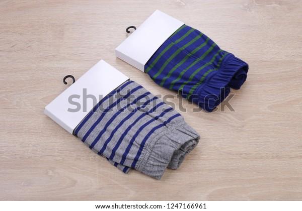boxer shorts packaging