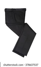 Men Business Casual Trouser  , Black Pants