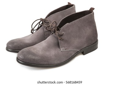 Men Casual Boots - Clipping Path