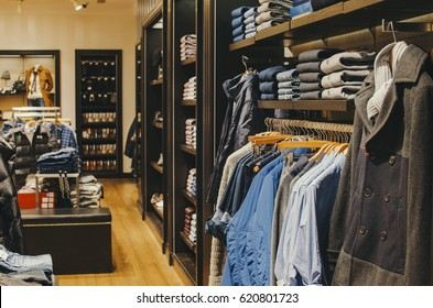 Men casual clothing shop