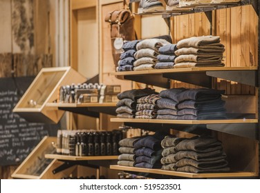 Men clothing store