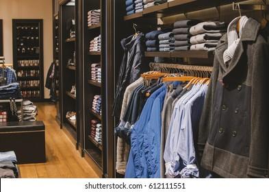 Men clothing store
