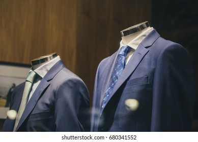 Men clothing in a store in Madrid