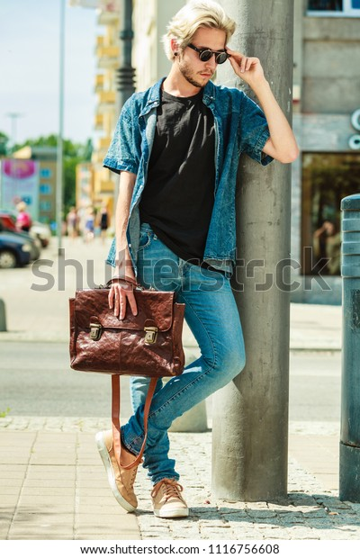 Men Fashion Urban Style Clothing Concept Stock Photo Edit Now 1116756608