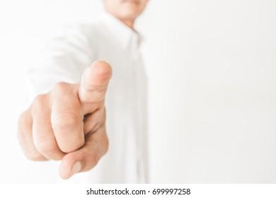 men finger