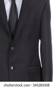 Men jacket detail