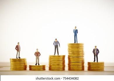 Men on coins