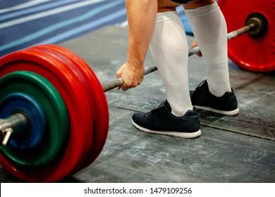 men powerlifter weightlift bar competition powerlifting deadlift
