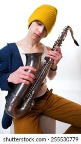 men with sax