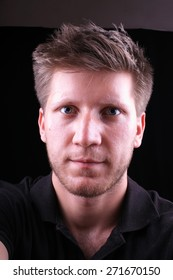 men selfi self portrait