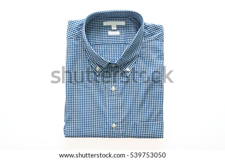 44b5a71800bb Men Shirt Fashion Clothing Isolated On Stock Photo (Edit Now ...