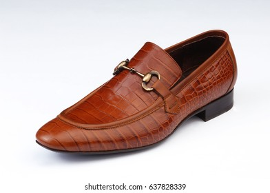 men shoes isolated