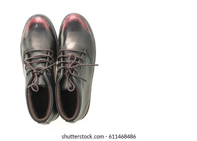 Men shoes isolated on white background