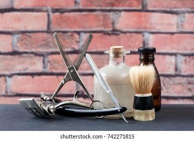 Men Style: shaving tools