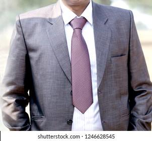 men suit perfect to the last detail.Man posing