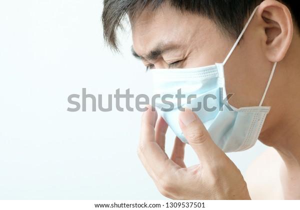 Stock Prevent Wear Photo edit Now Mask Infectious Men Diseases