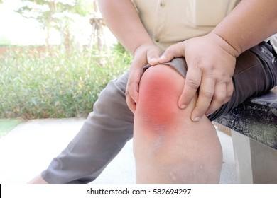 Knee Pain Fat Images, Stock Photos & Vectors   Shutterstock