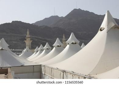 Mena , Makkah in Hajj time - Shutterstock ID 1156535560