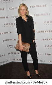 "Mena Suvari at the Los Angeles premiere of ""Somewhere"" at the Arclight Theatre, Hollywood. December 7, 2010  Los Angeles, CA Picture: Paul Smith / Featureflash"