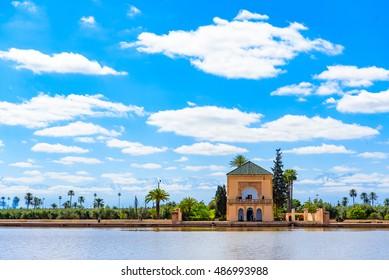 Menara Garden, Marrakesh, Morocco